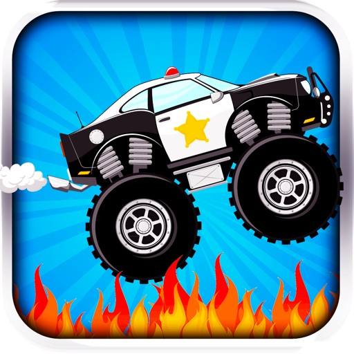Auto Cop Burnout icon
