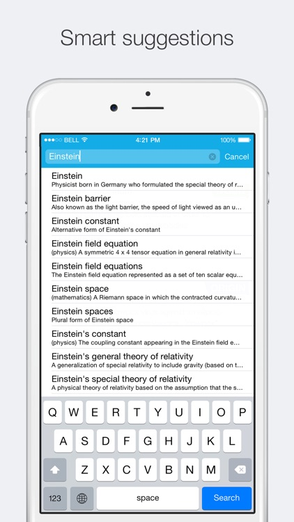 Concise English Dictionary & Thesaurus screenshot-3