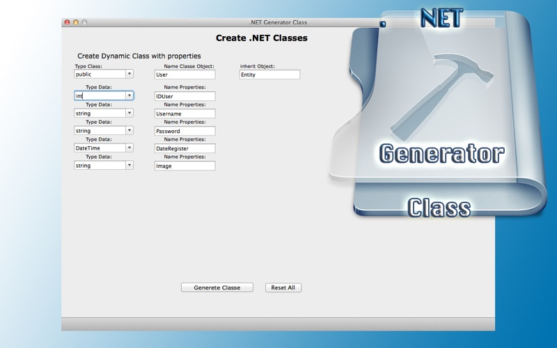 Net Generator Class review screenshots