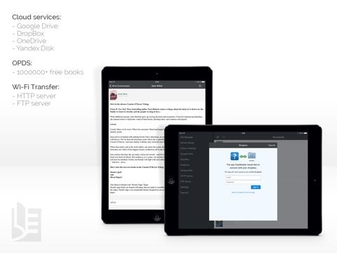 Screenshot #5 pour TotalReader for iPad - The BEST eBook reader for epub, fb2, pdf, djvu, mobi, rtf, txt, chm, cbz, cbr