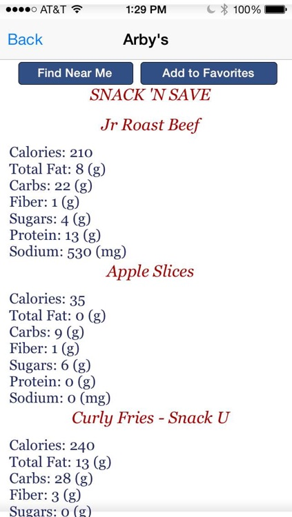 Dash Diet Helper - Fast Food Restaurants Low Sodium Items screenshot-3