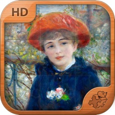 Activities of Pierre-Auguste Renoir Jigsaw Puzzles  - Play with Paintings. Prominent Masterpieces to recognize and...
