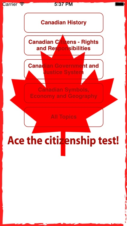 Canadian Citizenship Test - PassCitizenship.ca