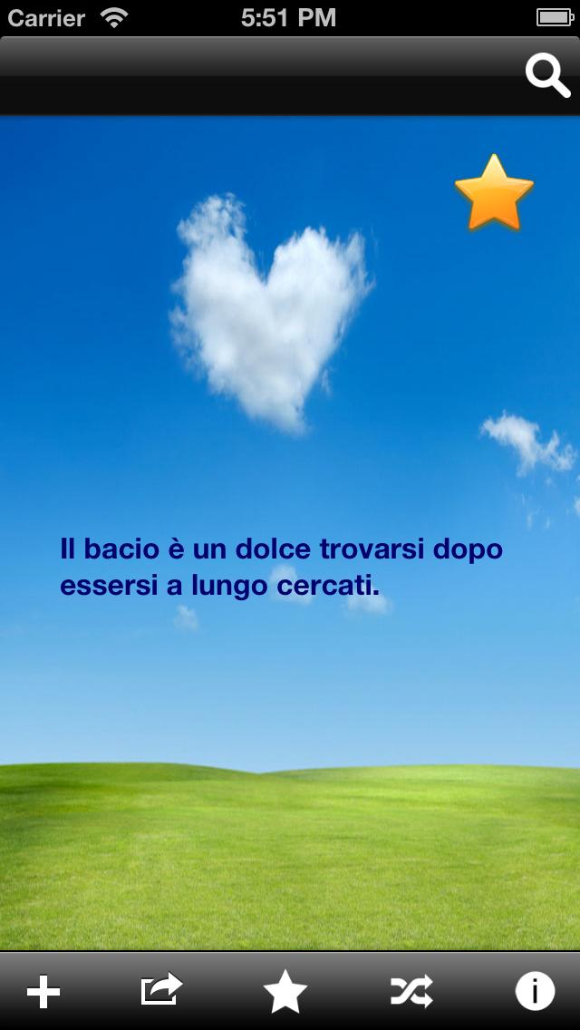 Messaggi d'Amore Screenshot