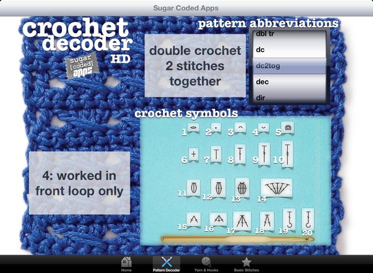 Crochet Decoder HD screenshot-3