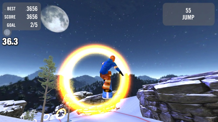 Crazy Snowboard Pro screenshot-4