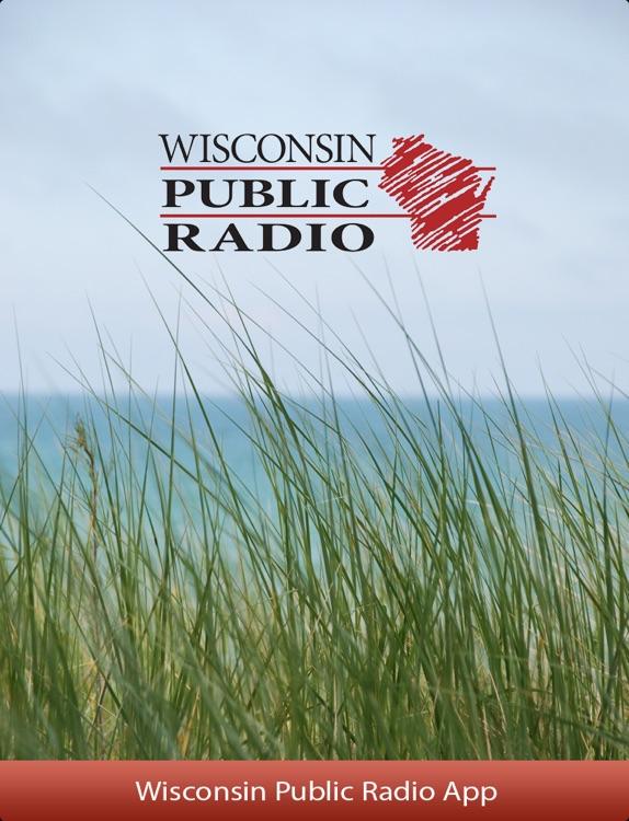 Wisconsin Public Radio App for iPad