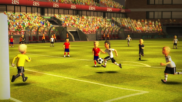 Striker Soccer Euro 2012 Lite: dominate Europe with your team