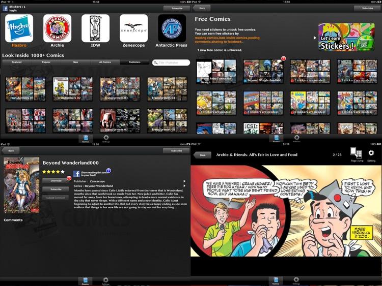 Comics Unlimited : Comic and Cartoon Book Reader