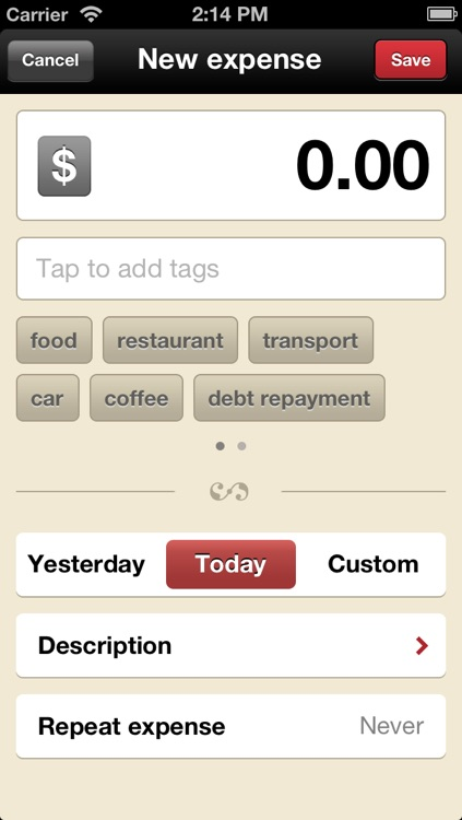 Toshl Finance - save money, budget, track expenses and bills the fun way screenshot-3
