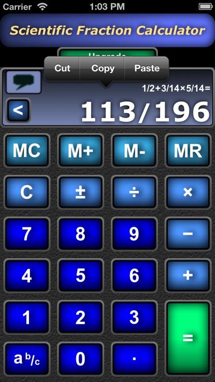 Scientific Fraction Calculator - Free