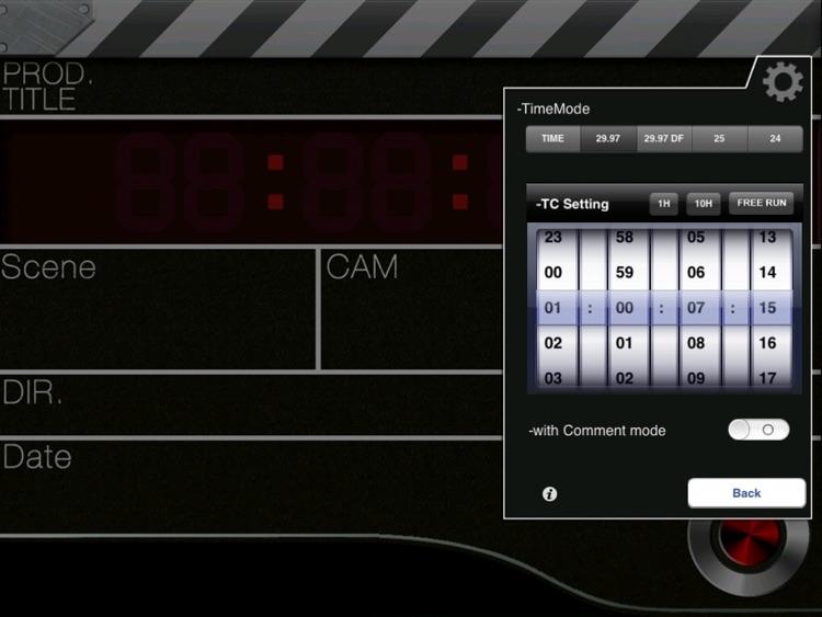 ClapperPod HD - Professional ClapperBoard