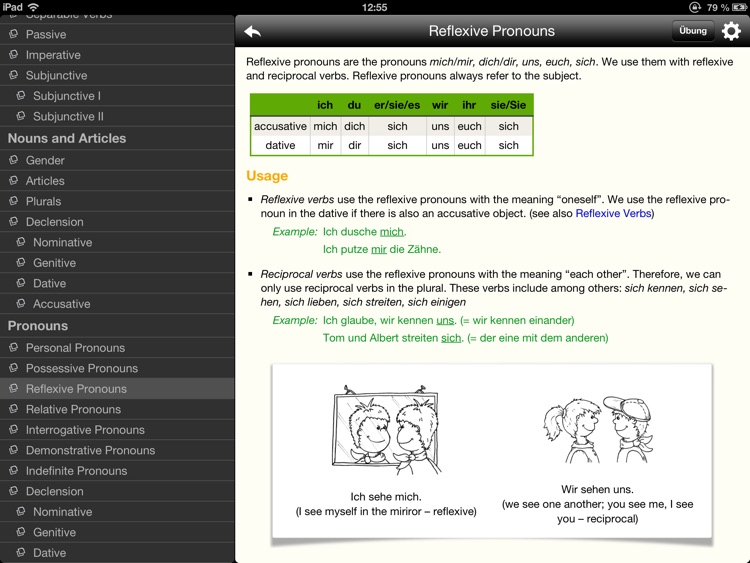 Lingolia German Grammar screenshot-1