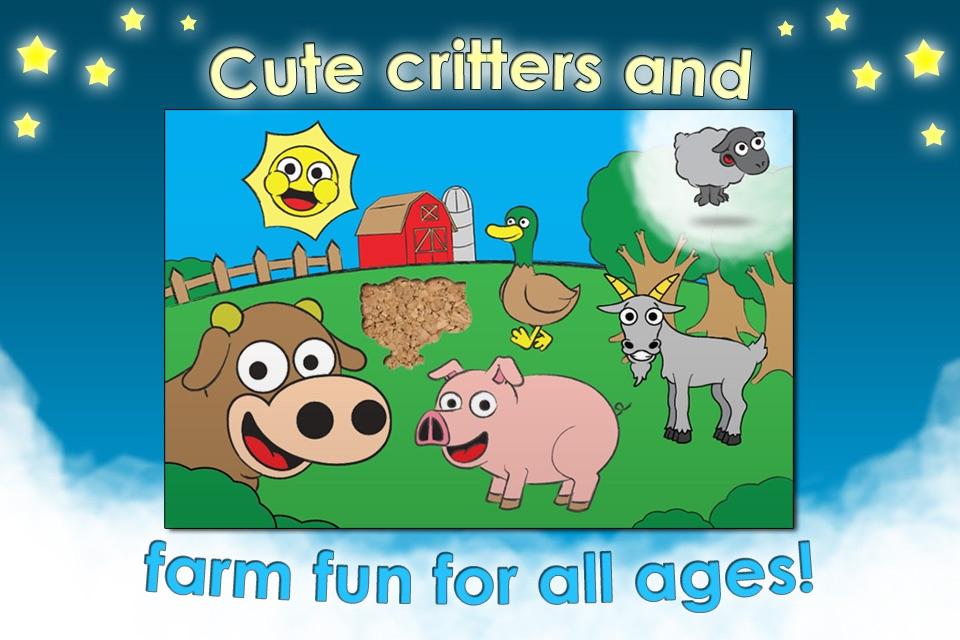 Farm Animal Games and Barnyard Puzzles for Kids HD - Best Preschool Activity and Jigsaw Fun for Toddlers and Families screenshot-3
