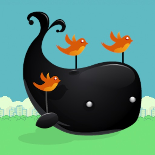 Flying Whale 2 - more difficult adventure of free birds