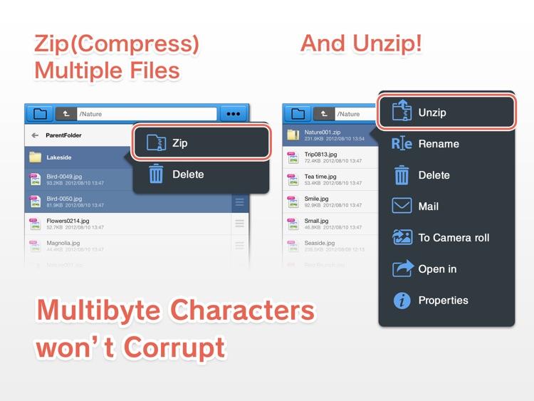 BoxCrane for iPad - FileCrane for Dropbox screenshot-3