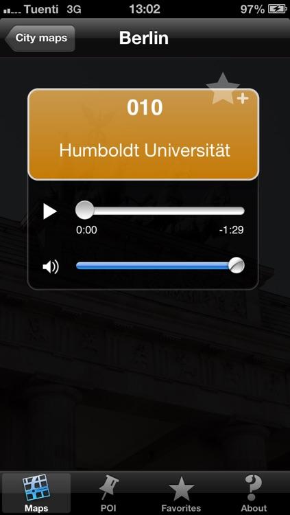 Berlin touristic audio guide (english audio)