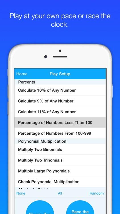 Mathemagics - Easy Algebra Fast screenshot-3