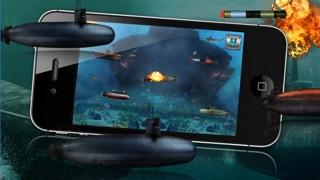 怒っバトル潜水艦 - 戦争潜水艦ゲーム!のおすすめ画像2