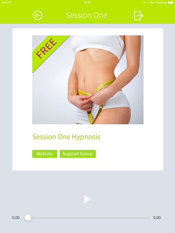 Virtual Gastric Band Hypnosis -Lose Weight Fast! LITE for iPad screenshot three