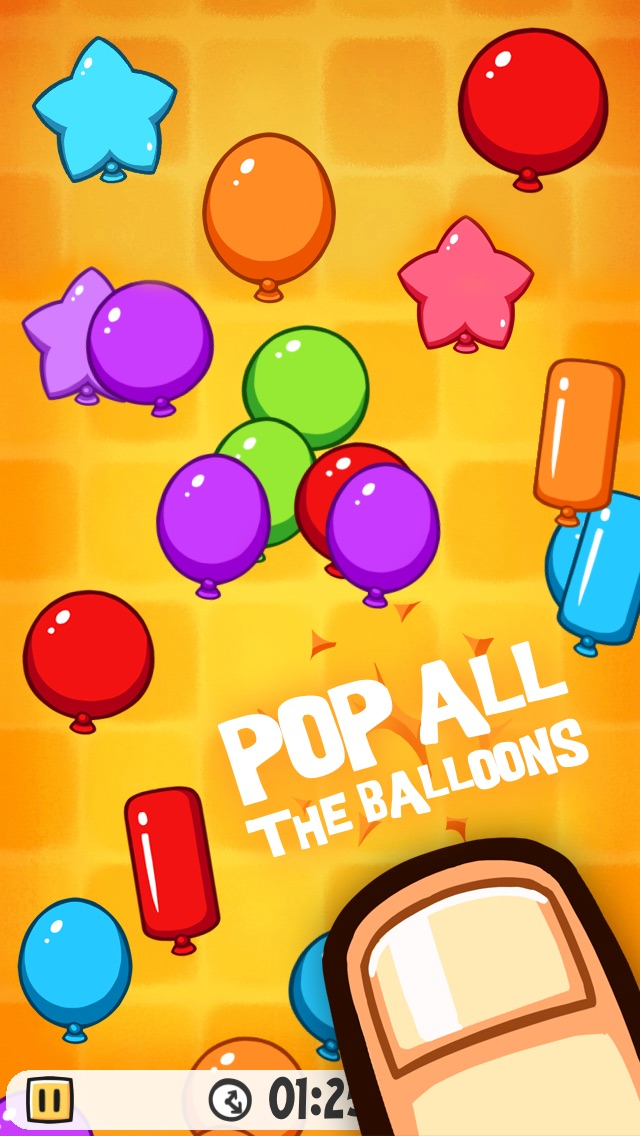 Balloon Party - Tap & Pop Balloons Free Game Challenge Screenshot
