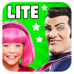 LazyTown's Adventures LITE – Little Pink Riding Hood Video Storybook with Narration, Puzzle Games, Coloring Pages, Photo-Booth, Music Videos, Training Videos and Cooking Recipes