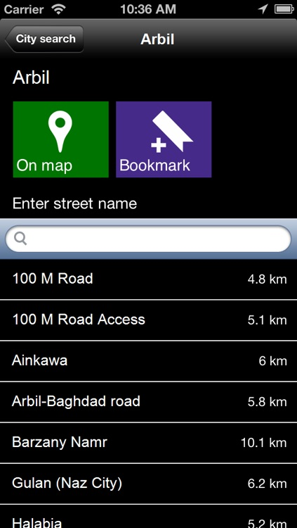 Offline Erbil, Iraq Map - World Offline Maps screenshot-4