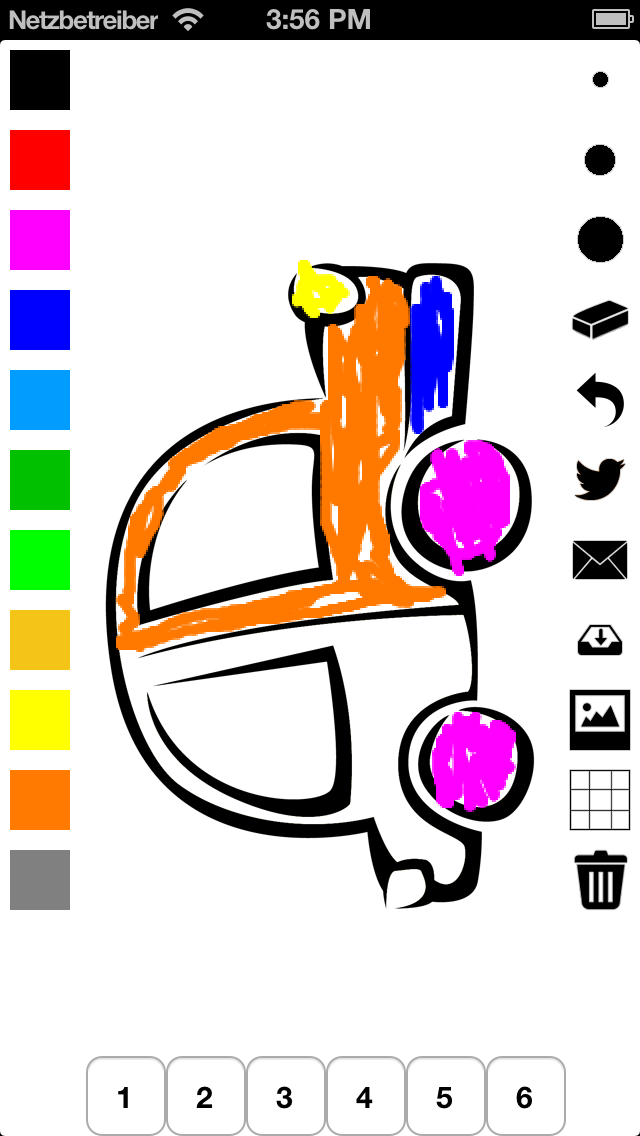 Vehicle Colouring Book for Children: Learn to colour a car,