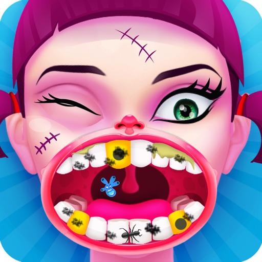 Monster Dentist Doctor - Free Fun Dental Hospital Games