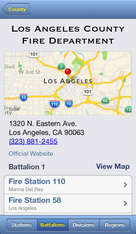 Fire Station App screenshot-1