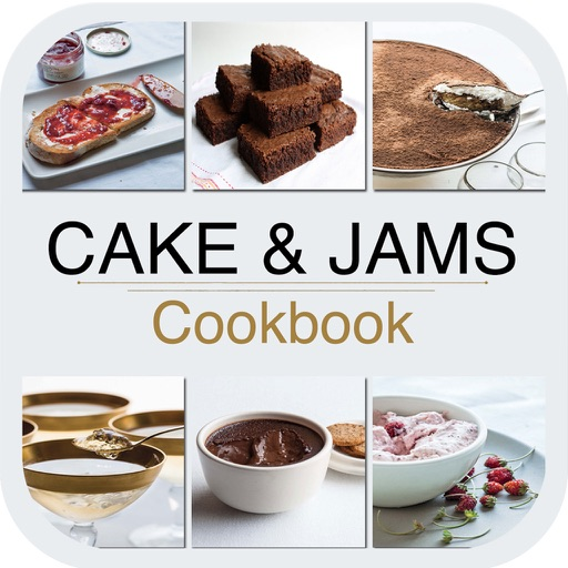 Cake and Jams Cookbook for iPad