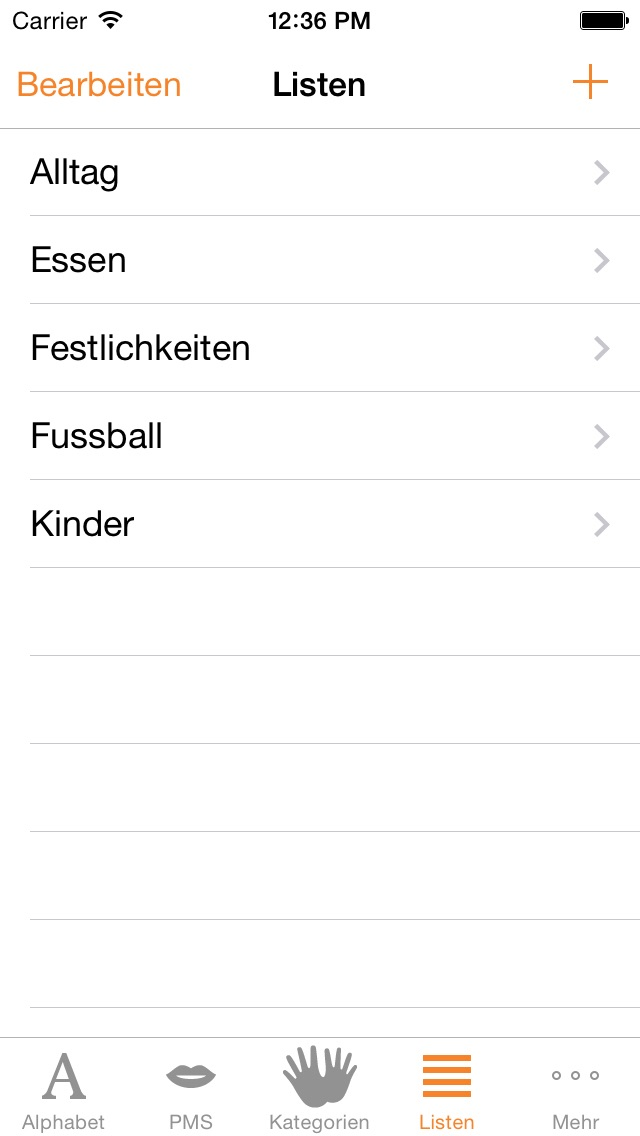 Screenshot for Gebärdensammlung (GuK) in Germany App Store