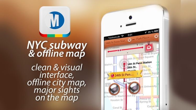 NYC Subway & Offline Map