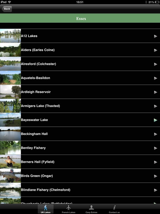 Carp Lakes HD - Carp Fishing Venues in the UK & France screenshot-0