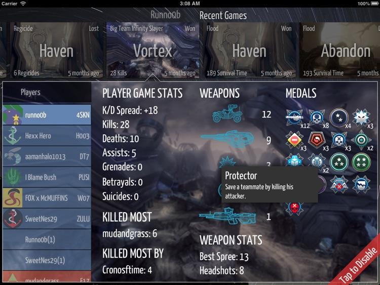 Spartan Stats HD screenshot-4