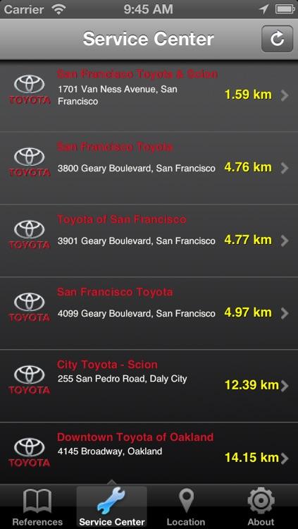 Toyota Indicator Light screenshot-3