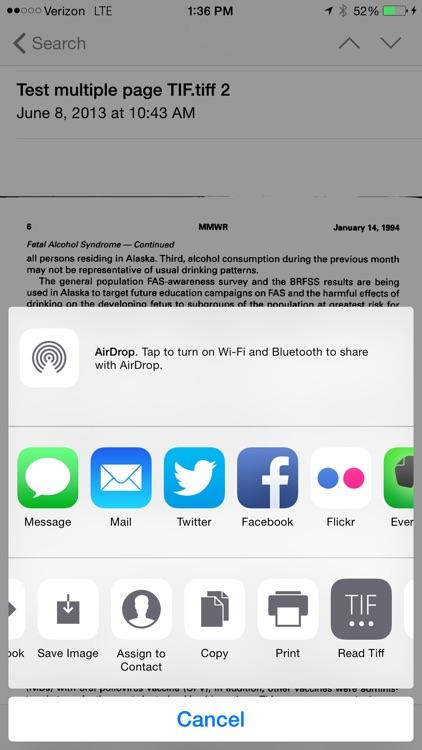 TIF/TIFF Fax Reader