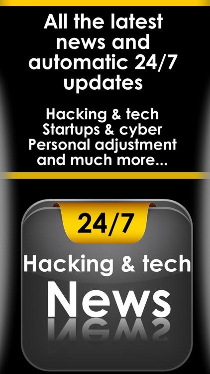 Hack & Tech news app  - All the hacking & technology news reader