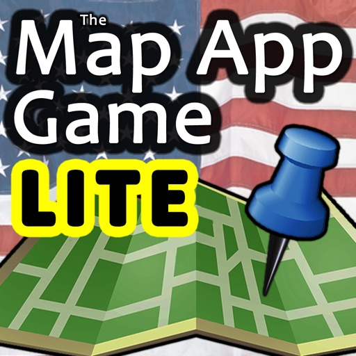 The Map App Game USA Edition LITE