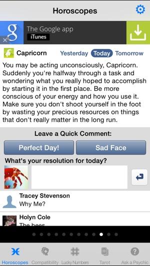 Horoscopes for Facebook on the App Store