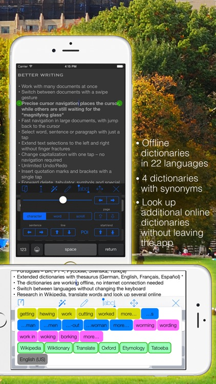 Textkraft Pocket screenshot-1