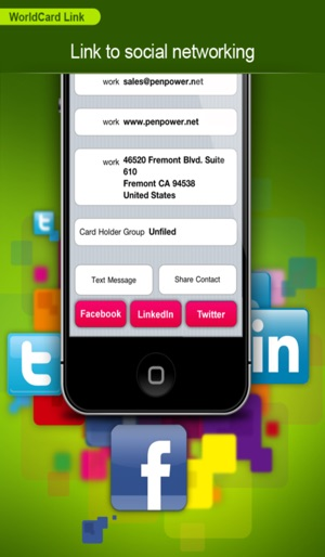 Worldcard link instant business card reader on the app store colourmoves Choice Image