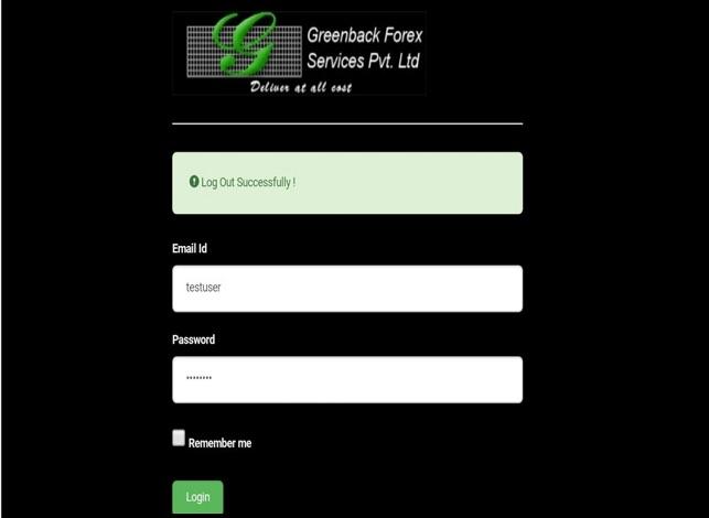Greenback - Advisory Services Pvt Ltd
