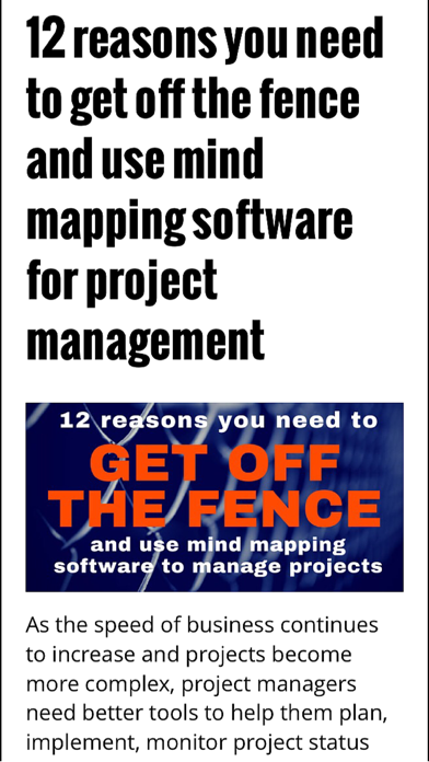 download Using Mind Maps Magazine apps 0