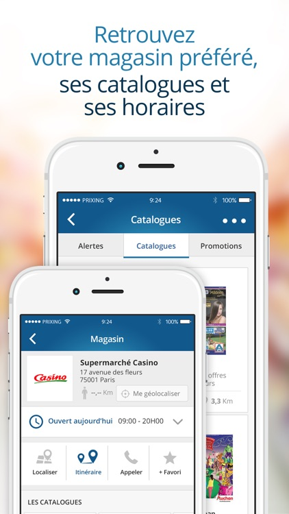 Prixing - Comparateur de prix, shopping, promotions et liste de courses screenshot-4