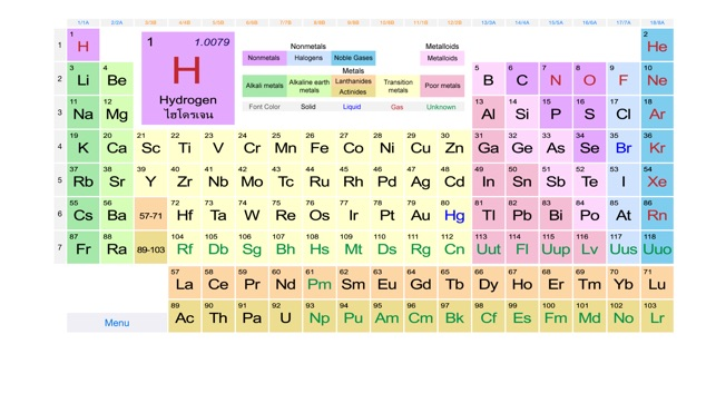 Periodic table easy on the app store screenshots urtaz Image collections