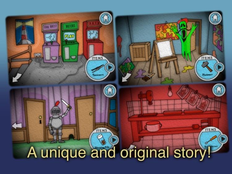 Spooky Manor HD screenshot-3