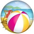 Rotolamento Beach Ball Gioco di Abilità icon