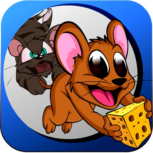 Mouse Chase - Top Best Free Endless Cat Race Escape Game