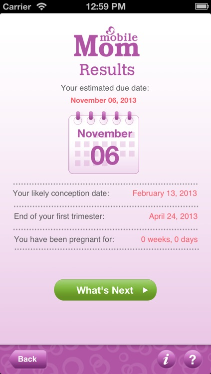 Pregnancy Due Date Calculator - My Baby Wheel & Countdown Birth Calendar screenshot-0